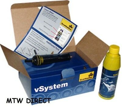 Scottoiler V System  CHAIN LUBE OILER VACUUM OPERATED FOR ALL MOTORBIKES