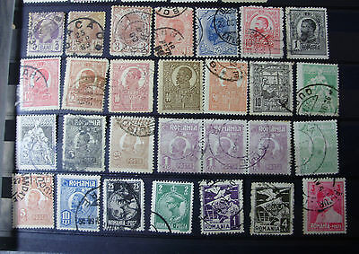 Lot36 - 50 x  ROMANIA STAMPS ~ ALL SHOWN