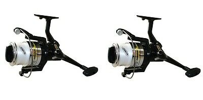 Mitchell 60 FD Fixed Spool Sea / Beach Fishing Reel Beachcaster With Line X 2
