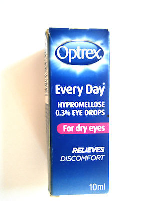 OPTREX EVERY DAY HYPROMELLOSE 0.3% EYE DROPS FOR DRY EYES 10ml - RELIEVES