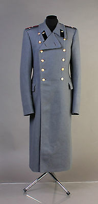 Soviet Wool Overcoat Parad greatcoat USED VTG USSR Officer tank forces L 50-5