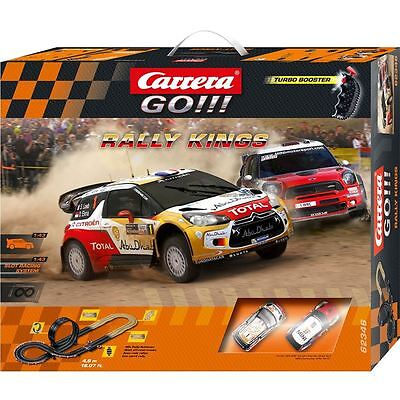 Carrera Go Rally Kings - Car Racing Set - Track - Playset Cars Toy Gift