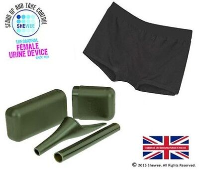 SHEWEE Armed Forces Active Pack - El Único Auténtico Original She Wee
