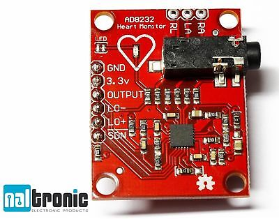 Single Lead AD8232 Herz Frequenz Heart Rate Monitor Modul Board 173