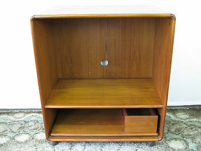 Retro Danish Teak Media Unit, TV or Record Player Stand. G Plan style. Northants