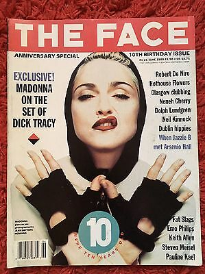 Madonna! The Face Magazine Vol 2 Issue 22 June 1990