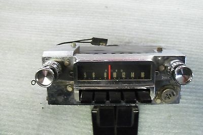 1965 66 Ford Mustang AM Radio w/ knobs
