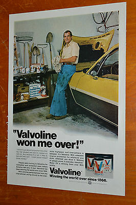 1977 Amc Pacer Wagon For Valvoline Motor Oil Ad - Vintage 70S Retro
