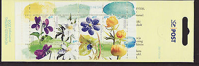 Estonia 2004 MNH - Spring flowers in the wood - booklet of 4 stamps
