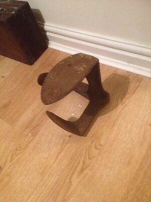 Vintage Cast Iron Boot Scraper Victorian Architectural  Shoe Steam Punk