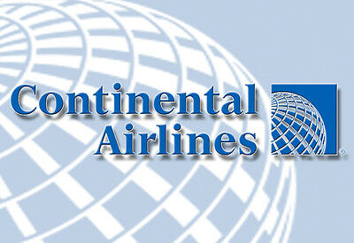 """Continental Airlines Logo Fridge Magnet 3.25""""x2.25"""" Collectibles (LM14006)"""