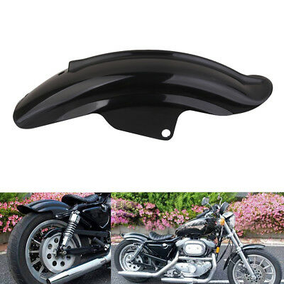 Black Rear Mud Guard Fender For Harley Sportster Bobber Chopper Cafe Racer