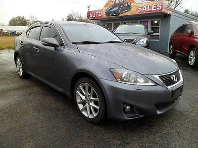2012 Lexus IS Base AWD 4dr Sedan 2012 Lexus IS 350 Base AWD 4dr Sedan Automatic 6-Speed AWD V6 3.5L Gasoline