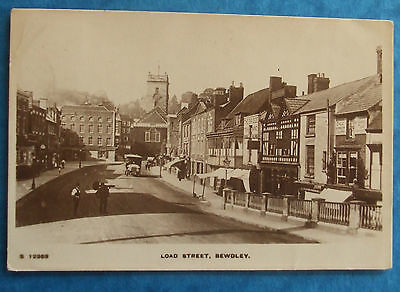KINGSWAY RP Postcard POSTED 1918 LOAD STREET BEWDLEY WORCESTERSHIRE