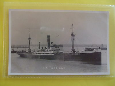 FEILDEN RP SHIPPING Postcard c.1920 S.S. HESIONE