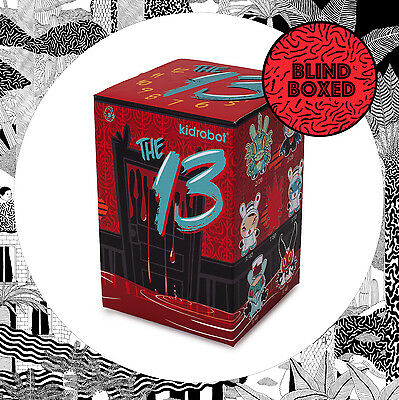 Kidrobot The 13 Series Dunny- 1 x BLIND BOX Surprise Art Toy Brandt Peters NEW