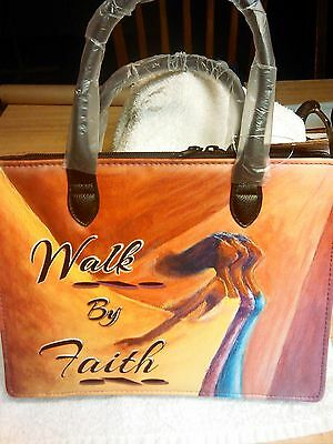African American Art Bible cover:Walk by Faith
