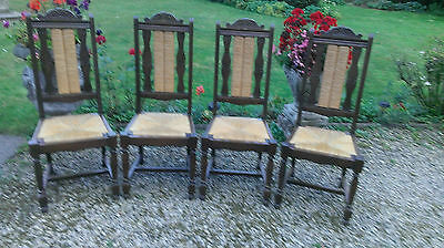 Set  Four  French  Dining  Chairs