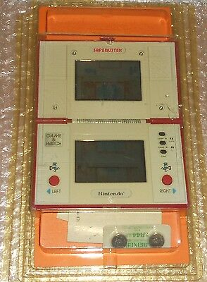 nintendo game&watch Safebuster Sealed Blister!! Very Rare.
