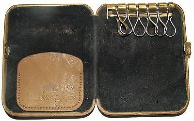 Vintage Buffalo Leather Key Case - Buxton - Excellent used