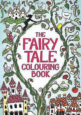 The Fairy Tale Colouring Book (Buster Activity) by Rachel Cloyne paperback NEW