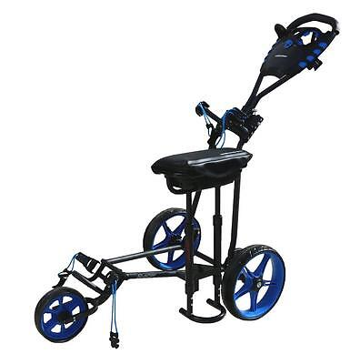 Walkinshaw Racer 4.0 Golf Buggy  - Charcoal/blue - New - Awesome Value!!