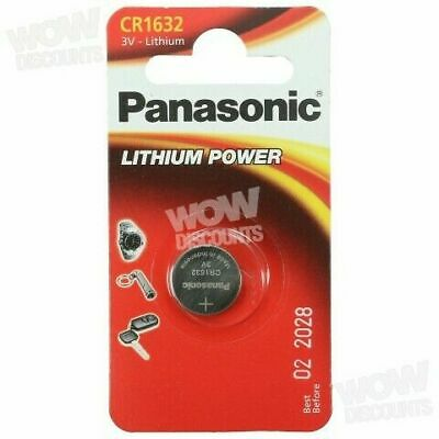 Panasonic CR1632 1632 3V Lithium Battery