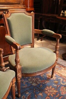 Armchair 18th vintage Louis XVI, possibility two