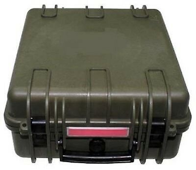 US Kunststoff Transport Army Military Kiste Box wasserdicht 36x41,9x19,5 cm oliv