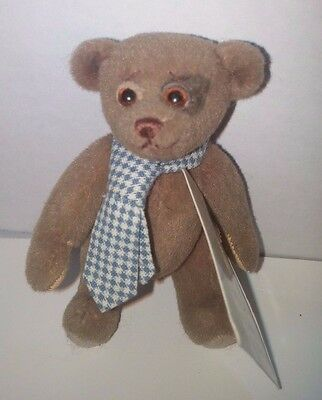 Little Gem Miniature Teddy Bear Hooligan by Beverly White 458/2000 Fully Jointed