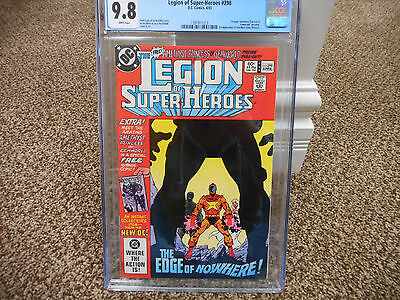 Legion of Super-Heroes 298 1st appearance Amethyst cgc 9.8 DC 1983 WHITE pgs TV