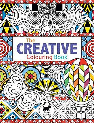 The Creative Colouring Book (Buster Activity) by Joanna Webster Paperback NEW