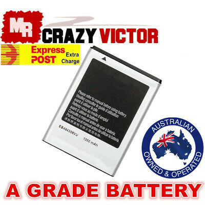 Battery for Samsung Galaxy EB494358VU Gio GT-S5660 GT-S5660V Young S6310T S5830V