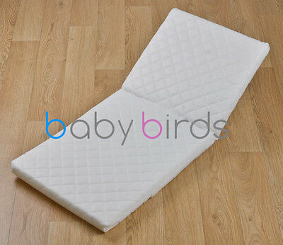 Silver Cross Mattress for Kensington Coach Built Pram, Split Seam by Baby Birds