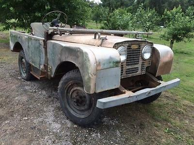 1950 Land Rover Series 1 80 inch LIGHTS THROUGHT THE GRILL for Restoration