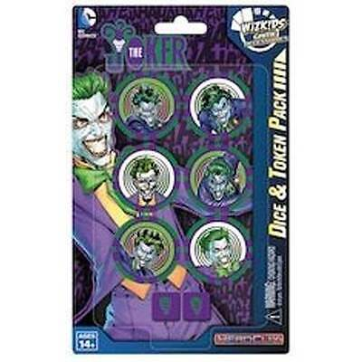 Heroclix - Batman and his Greatest Foes - The Joker Dice & Token Pack NEW