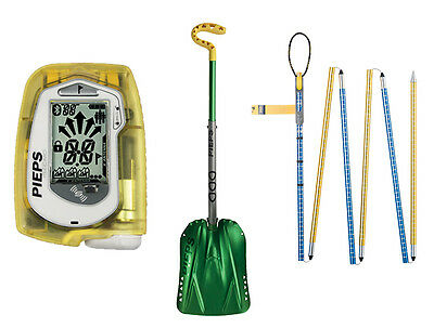 Pieps MICRO SET -  Avalanche safety set with smallest  3-antenna-beacon