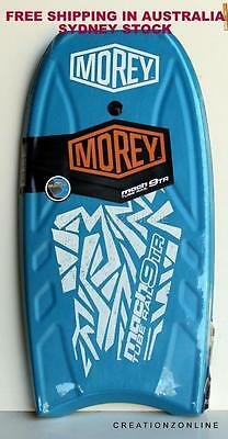 Blue Mach 9Tr  Morey Boogie Board New Design  Tube Rail Surf Beach Bodyboard