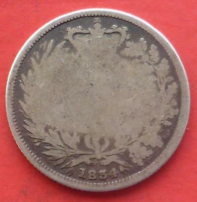 An 1834 King William Iiii Gb Silver One Shilling Coin