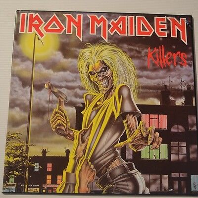 Iron Maiden - Killers -  1992 Original Czech Lp Ltd. Edition Color Vinyl