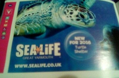 sealife great yarmouth £4 off admission ticket per child or adult up to 6 people