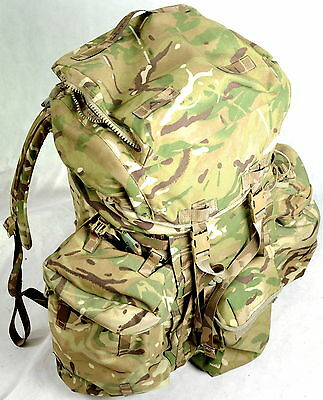 BRITISH ARMY Issue MTP  RUCKSACK AND FRAME (INF) LONG CONVOLUTED  BACK, IRR