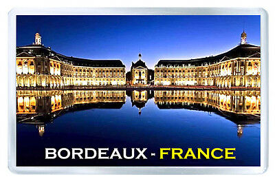 Bordeaux France Mod3 Fridge Magnet Souvenir Iman Nevera