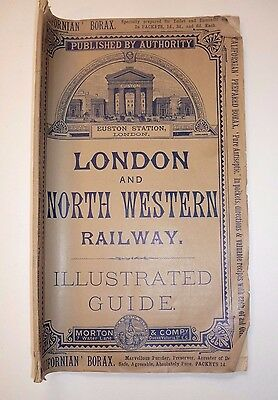 1888 London & North Western Railway Illustrated Guide