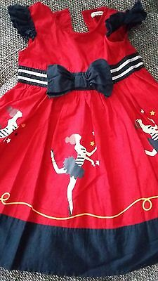 Ladybird dress size 3-4 years