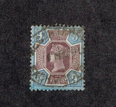 GREAT BRITAIN 120, 1887-92 9p VICTORIA, USED (ID2821)