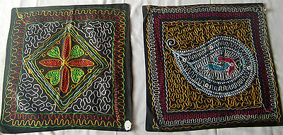 Beautiful Handmade Old Vintage Patch Work Cushions/pillow Cover India Fine Art22