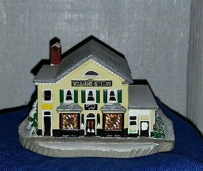 """Norman Rockwell Main Street Series """"The Country Store"""" Christmas Village"""