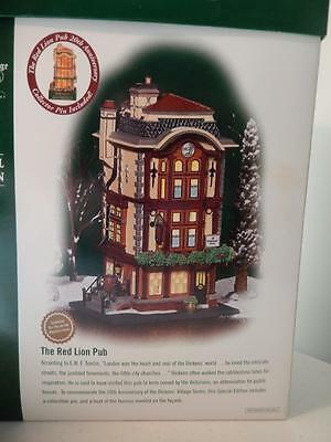 Department 56 (NEW) The Red Lion Pub #56.58715 (Special Edition) One Year Only
