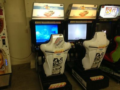 Outrun 2 Special Tours Arcade Single Sit Down Working, Original Hardware